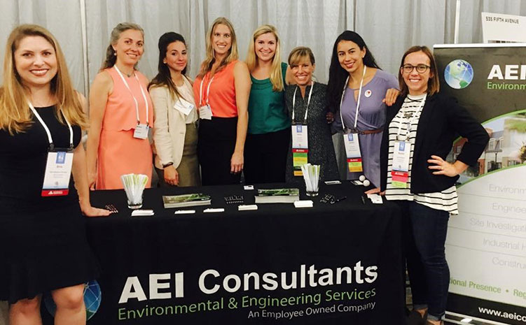 AEI Consultants at the CREW Network Marketplace