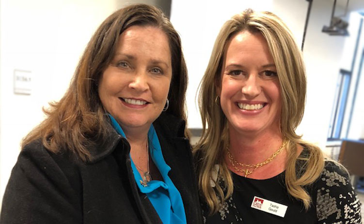 CREW Network CEO Wendy Mann and Tasha Gould, Principal Real Estate Investors