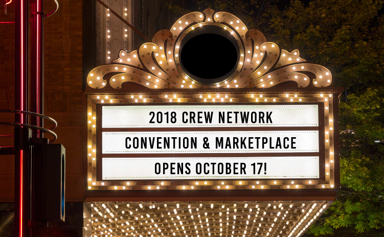 2018 CREW Network Convention & Marketplace opens October 17