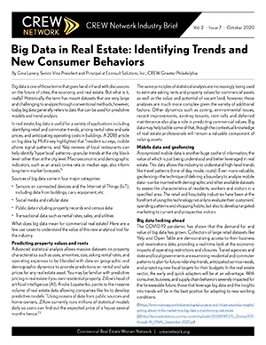 Big Data in Real Estate: Identifying Trends and New Consumer Behaviors