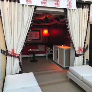 CREW Network Cabana at the Opening ICSC RECon Reception