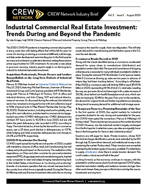 Industrial Commercial Real Estate Investment- Keep Your Eye on the Horizon
